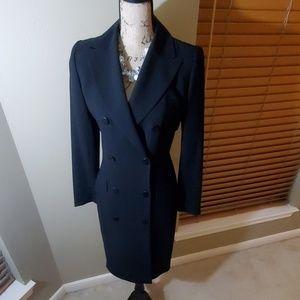 Linda Allard/Ellen Tracy- Double Breasted Dress